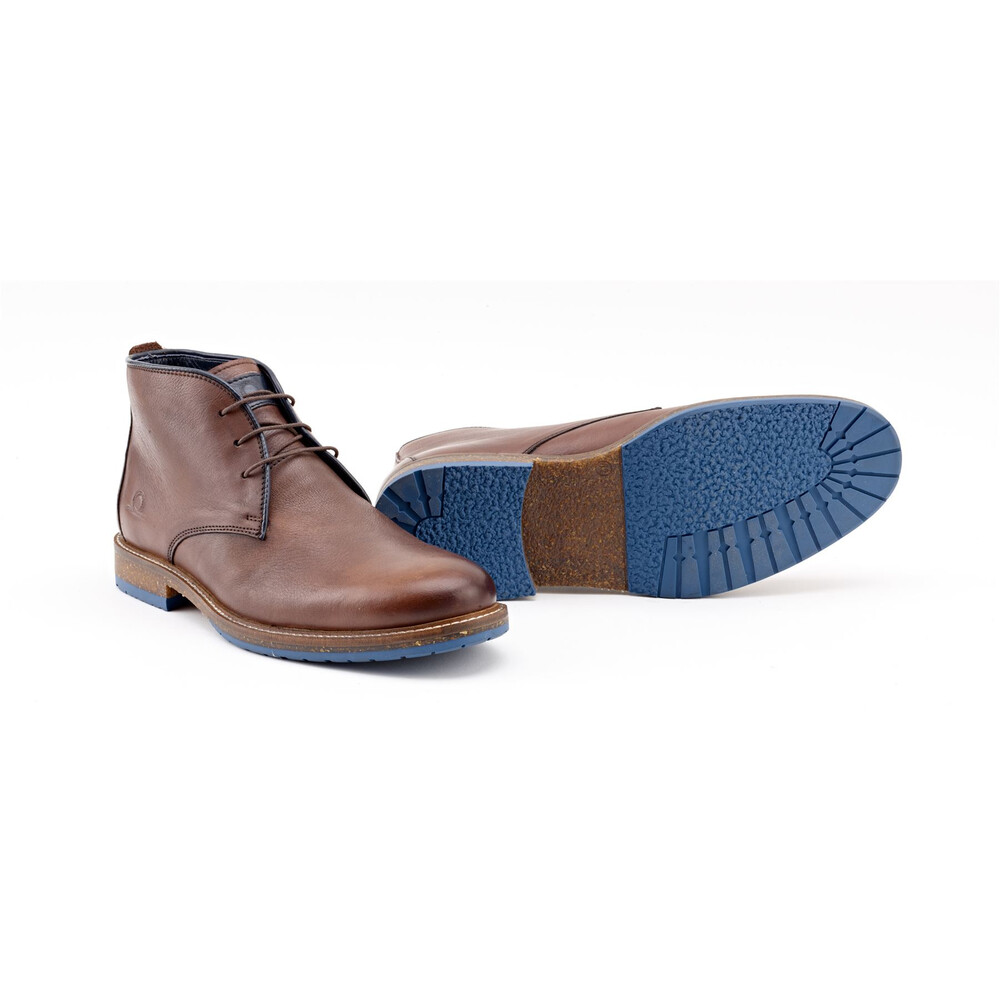 Chatham Perry Leather Chukka Boots - Brown Brown