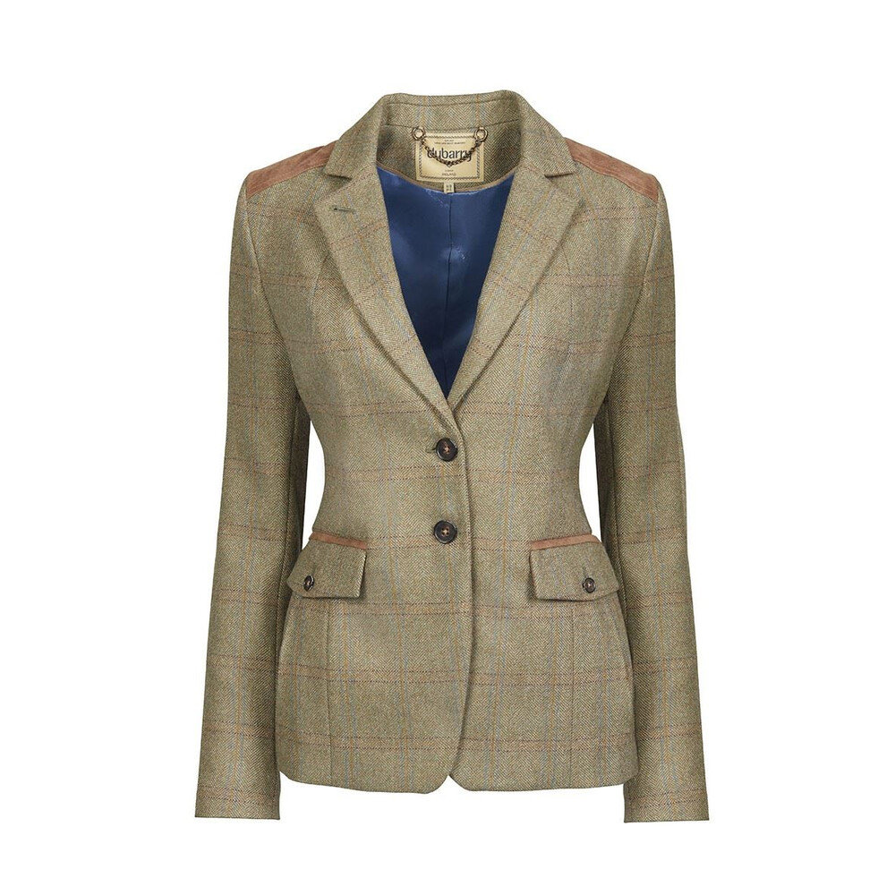 Dubarry Pearlwort Tweed Blazer - Acorn