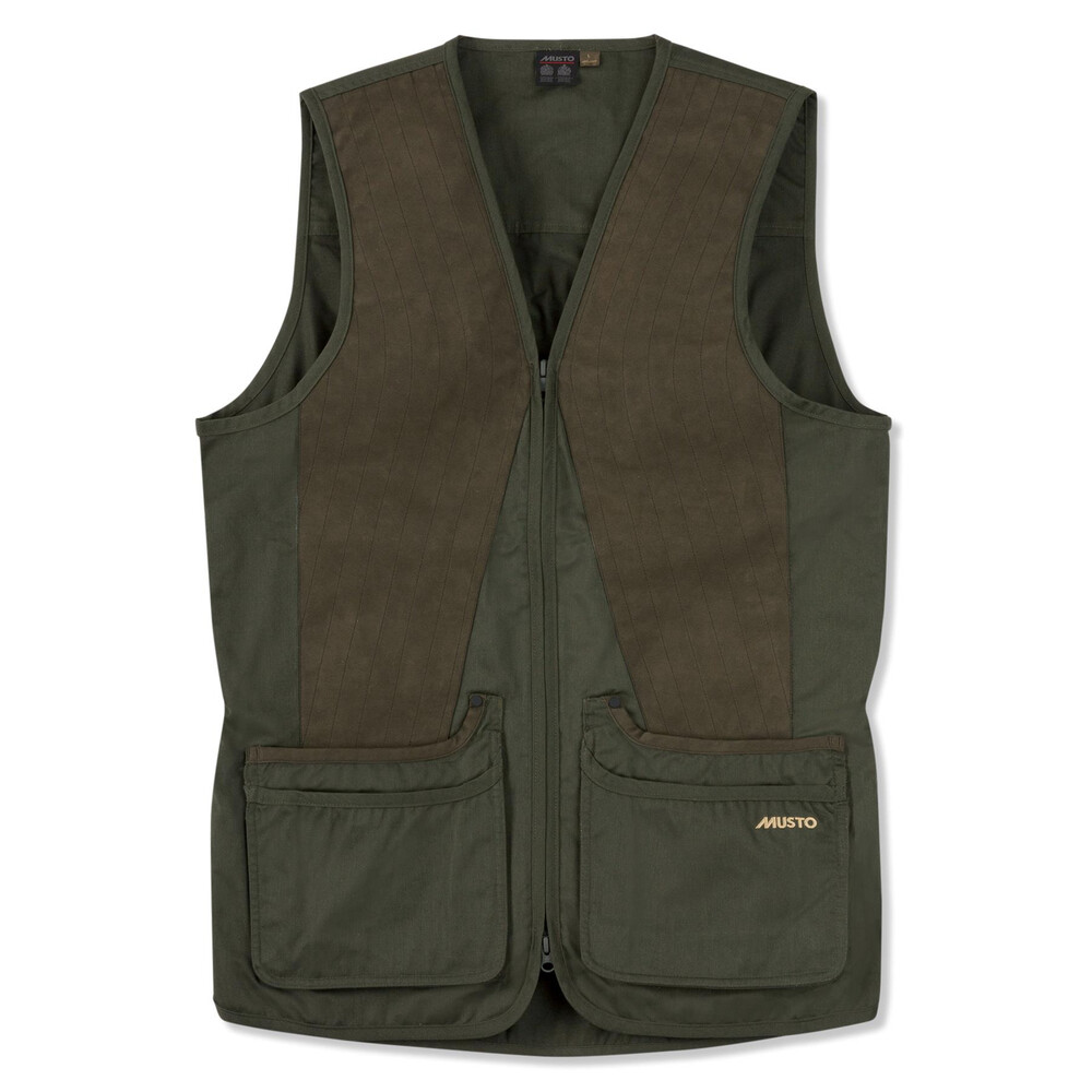 Musto Musto Clay Shooting Vest - Vineyard