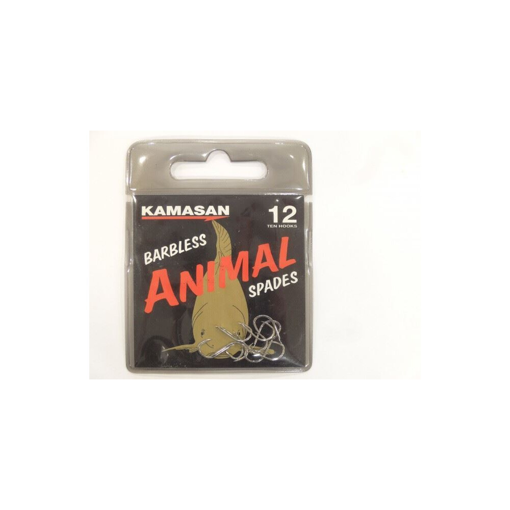 Kamasan Animal Hooks - Spade - Barbless