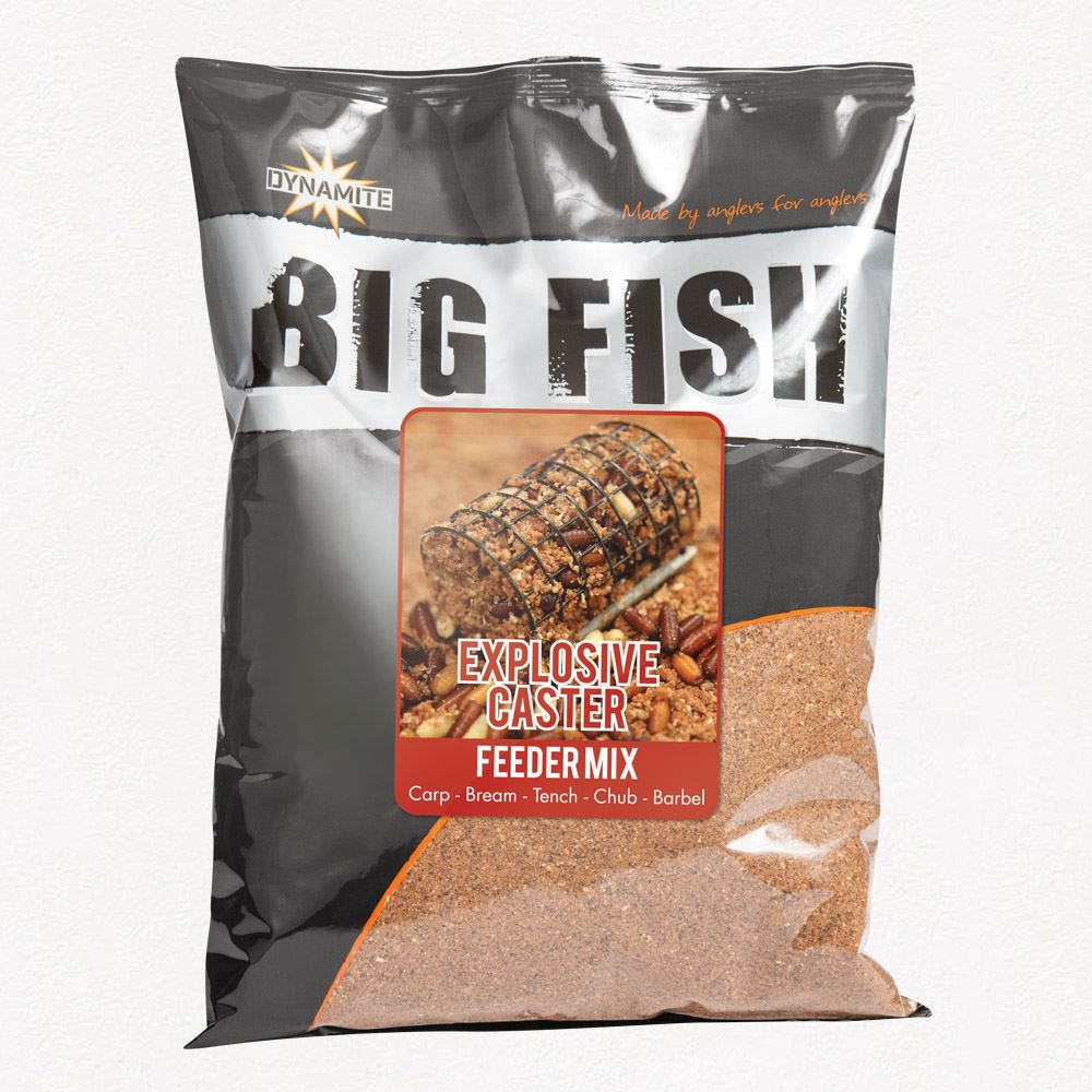 Dynamite Baits Big Fish Explosive Caster Feeder Mix Unknown