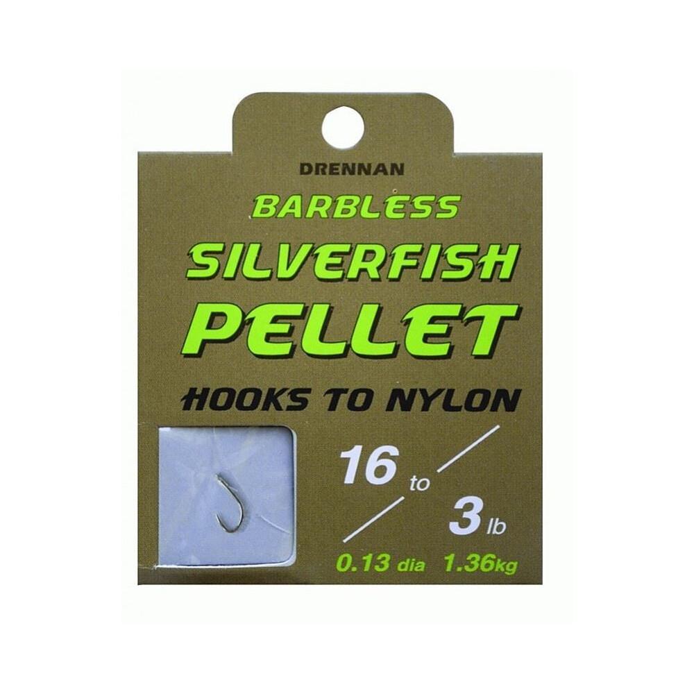 Drennan Hook To Nylon - Silverfish Pellet