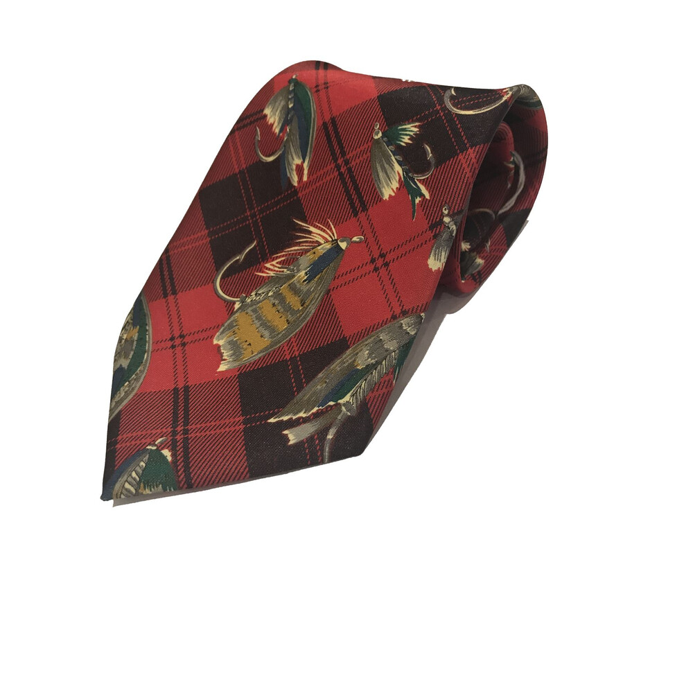 Allcocks Fly Fishing Tie - Red