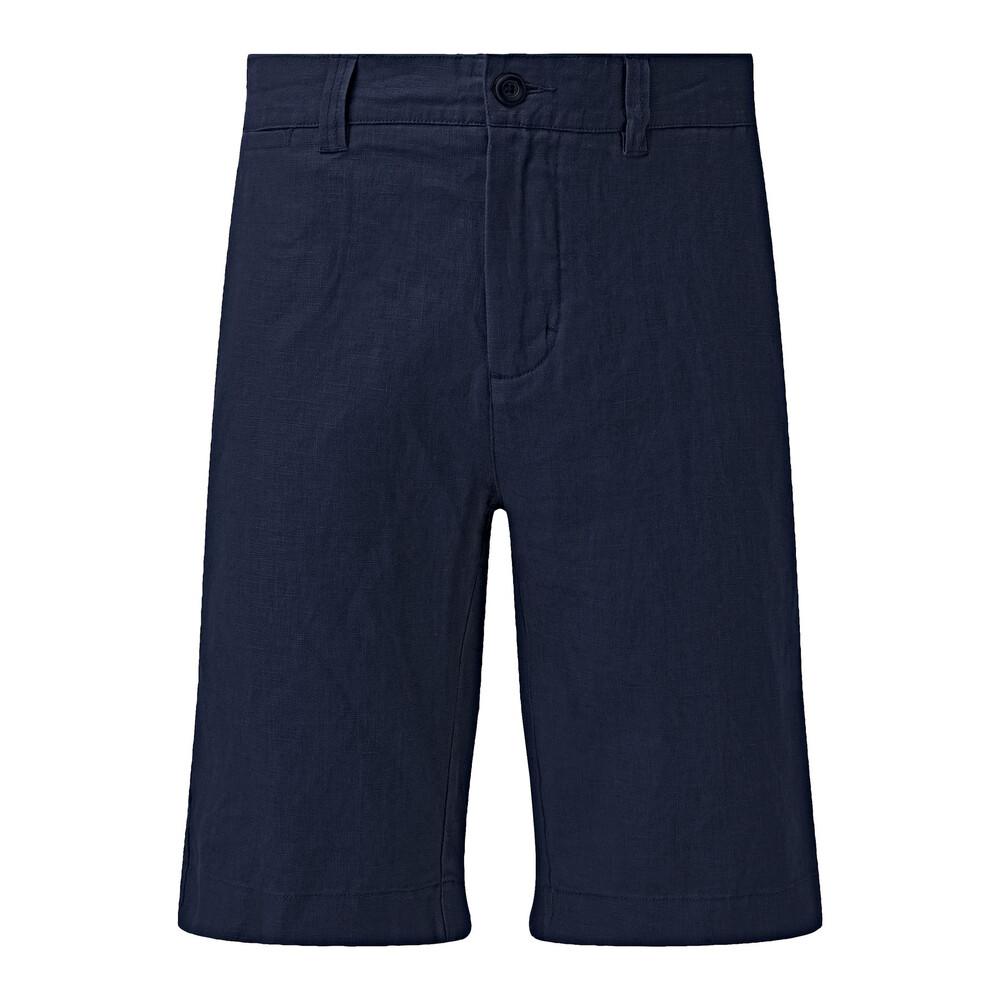 Schoffel Linen Shorts - Navy Navy