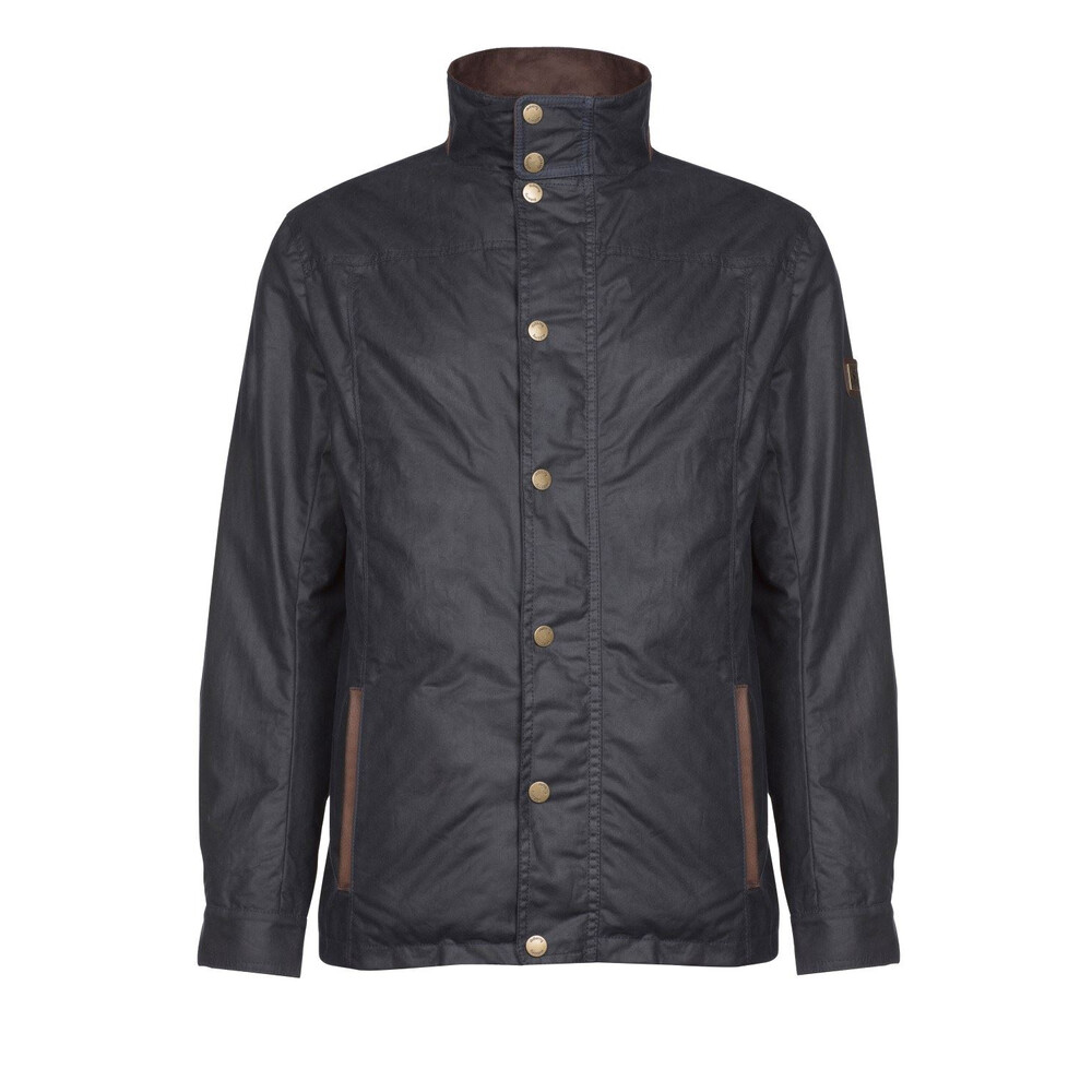 Dubarry Carrickfergus Waxed Cotton Jacket - Navy