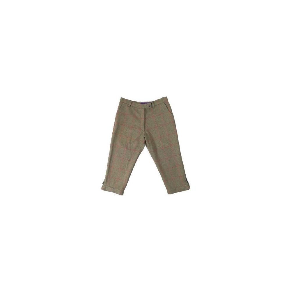 Beaver of Bolton Beatrice Lined Breeks Green