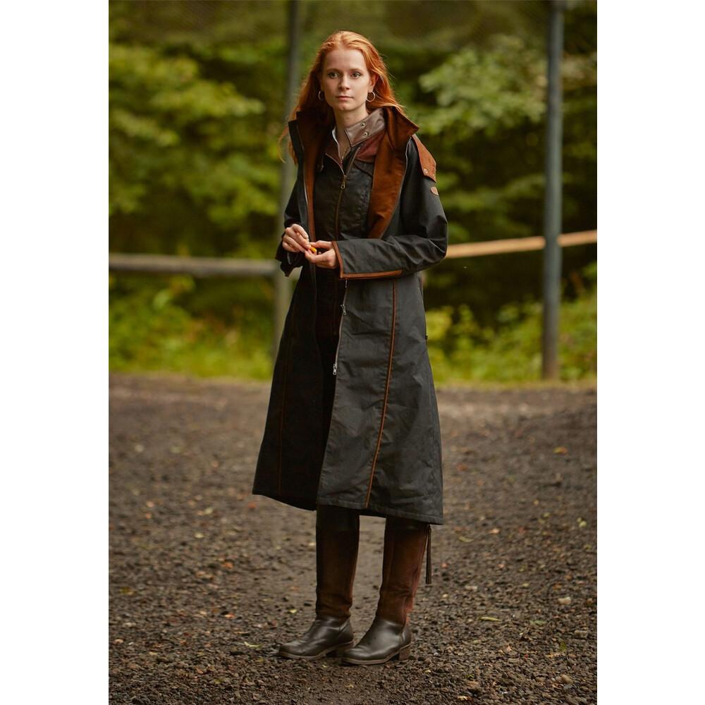 Welligogs Eleanor Long Coat Black