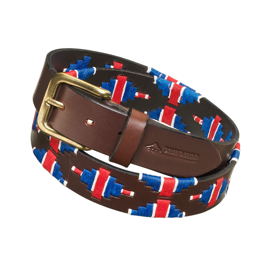 Pampeano Polo Belt - British Flag Multi