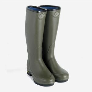 Le Chameau Country Vibram Neoprene Lined Unisex Wellington Boots
