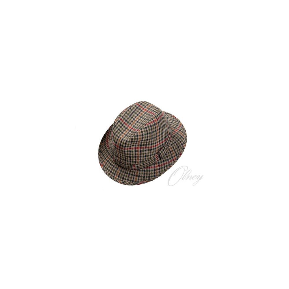 Olney Rutland  Down Brim Hat - Assorted Tweed Assorted Tweed