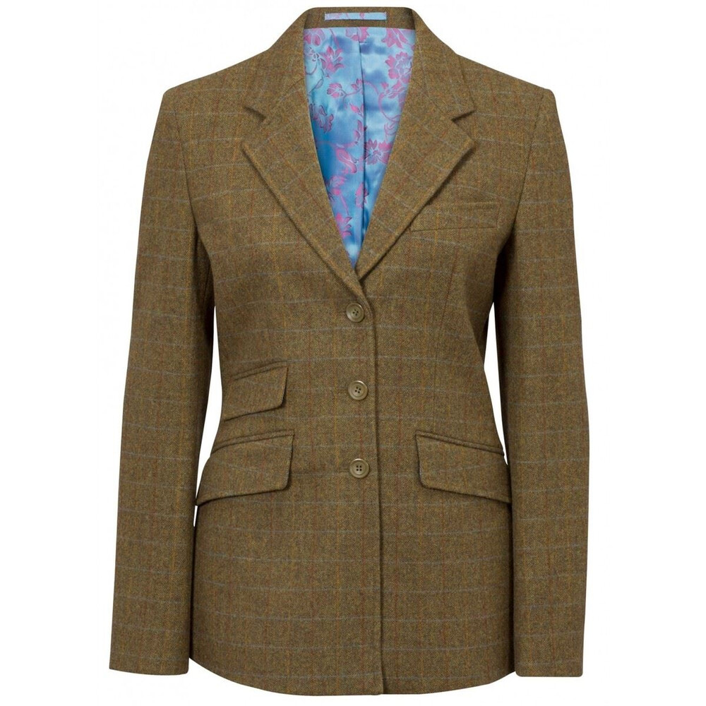 Alan Paine Alan Paine Combrook Ladies Tweed Blazer - Willow - Size 8
