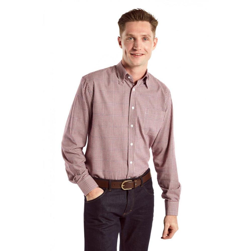 Dubarry Whitegate Shirt - Merlot Red