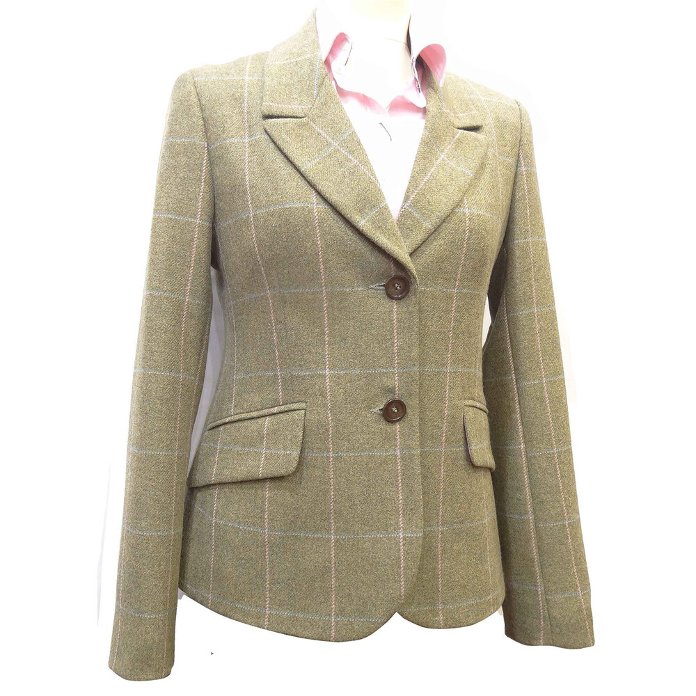 Beaver of Bolton Beaver of Bolton Catherine Jacket - Pink Tweed