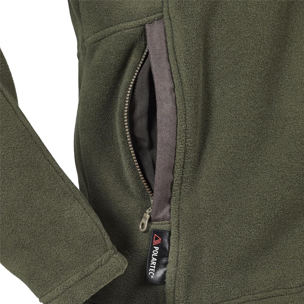 Musto Glemsford Polartec Fleece Jacket Dark Moss