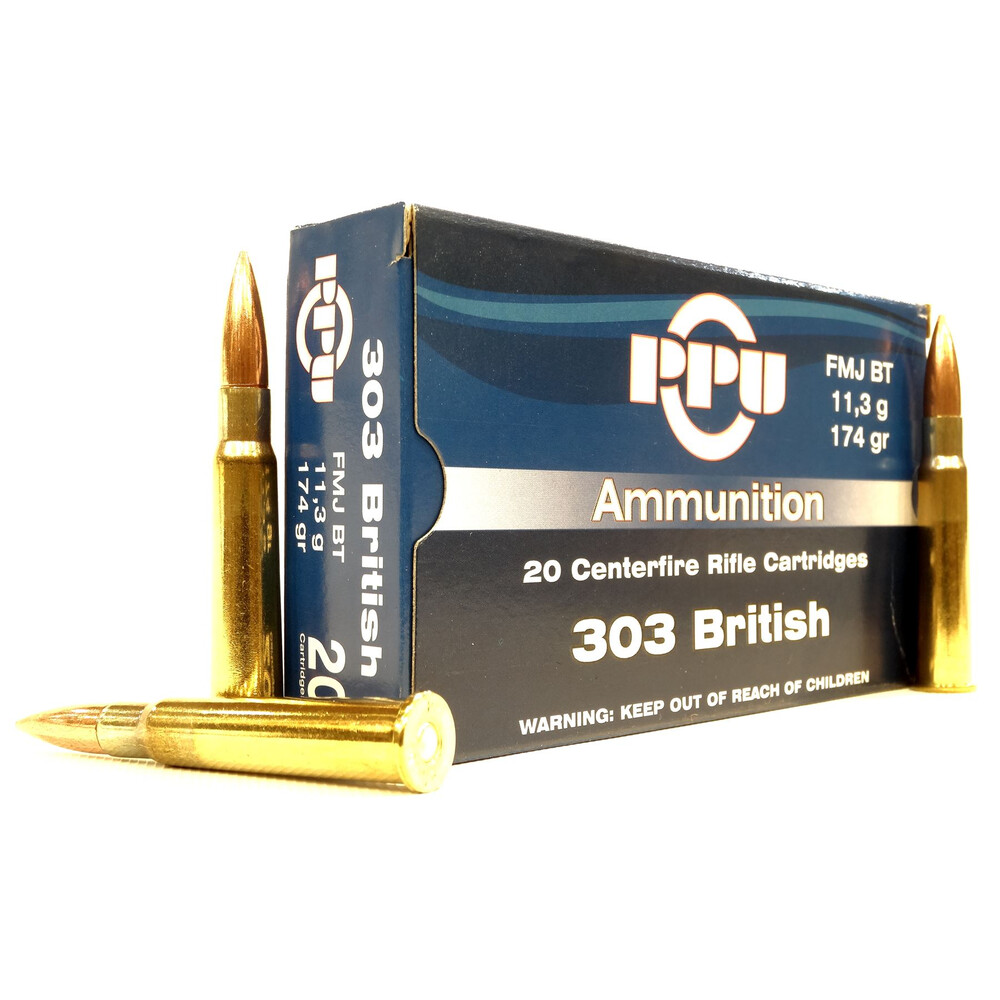 Prvi Partizan PPU  .303 Ammunition - 174gr - FMJ