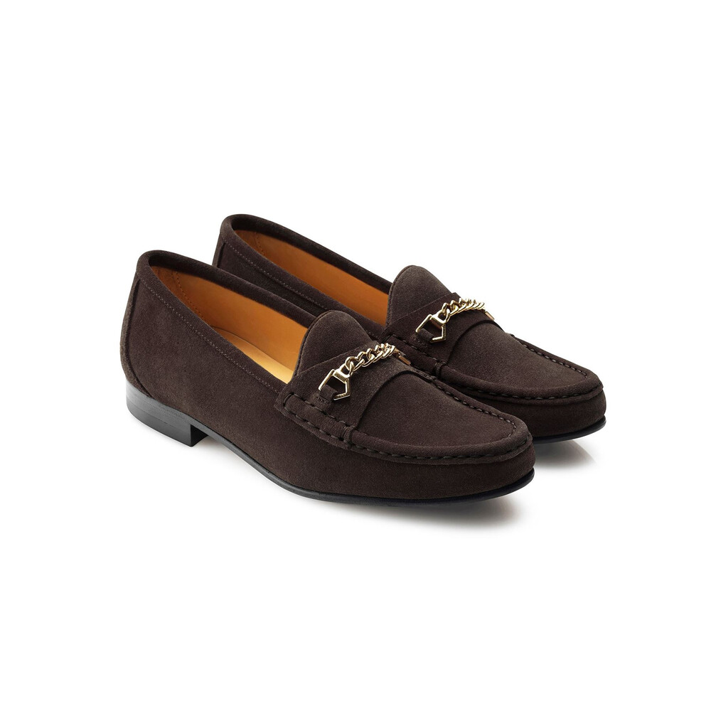Fairfax & Favor Fairfax & Favor Apsley Loafer - Chocolate