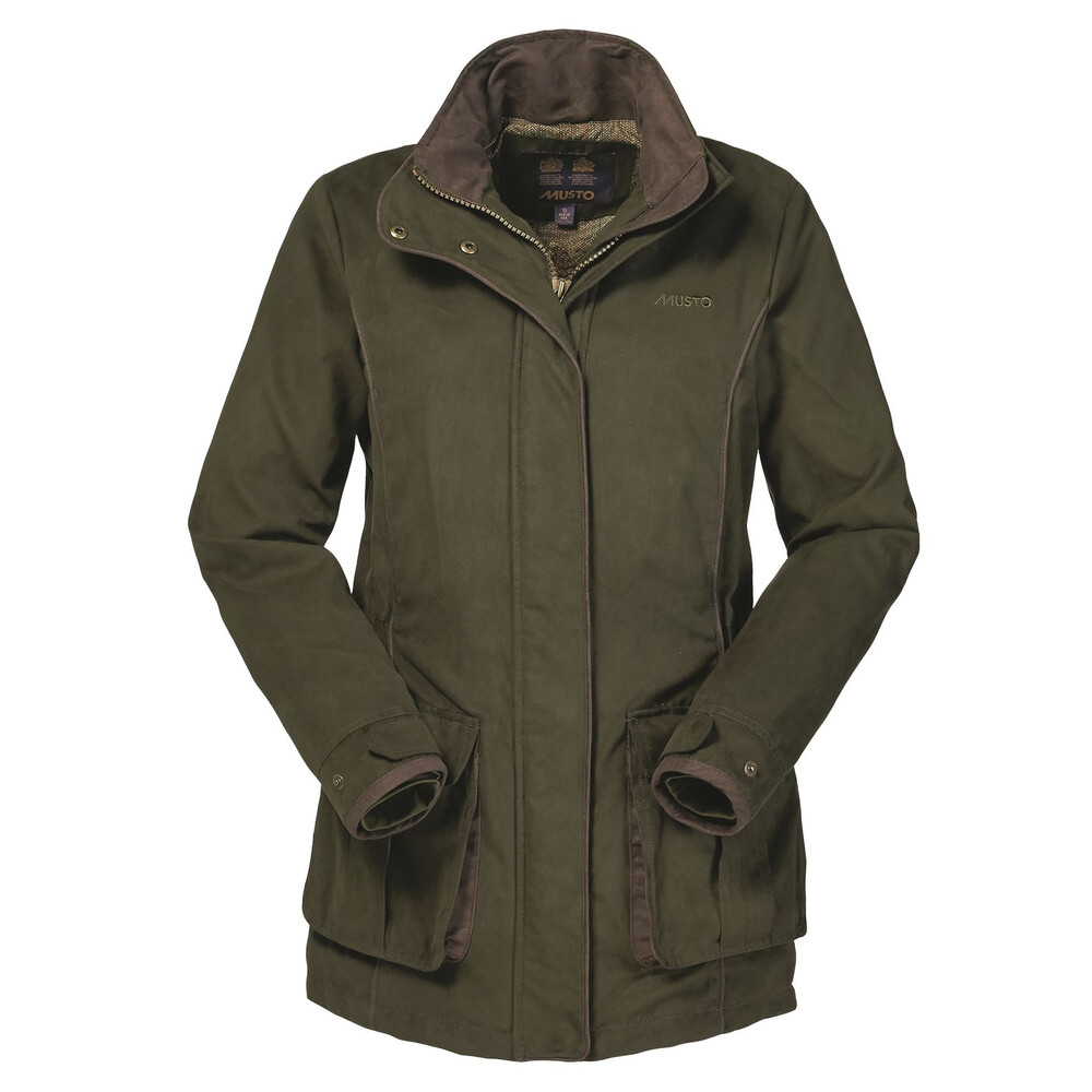 Musto Women's Whisper GORE-TEX PrimaLoft Jacket - Dark Moss Green