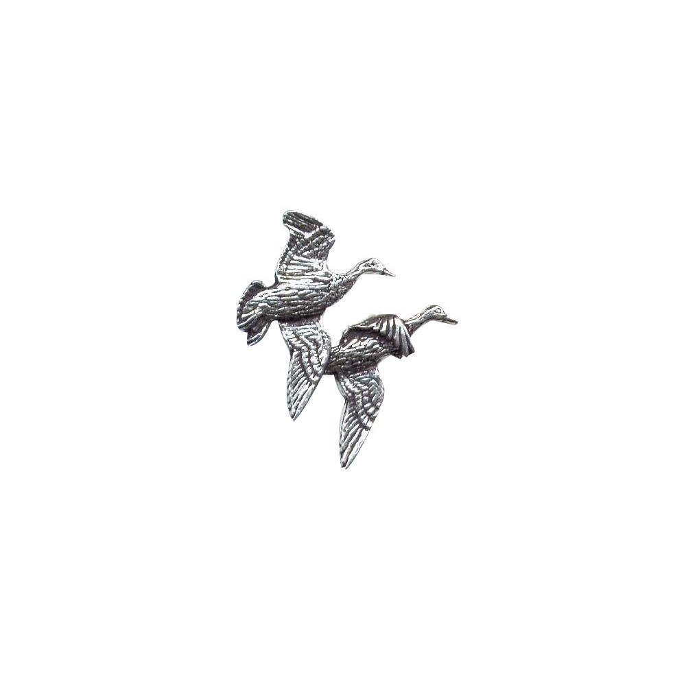 John Rothery Pewter Pin Badge - Ducks Unknown