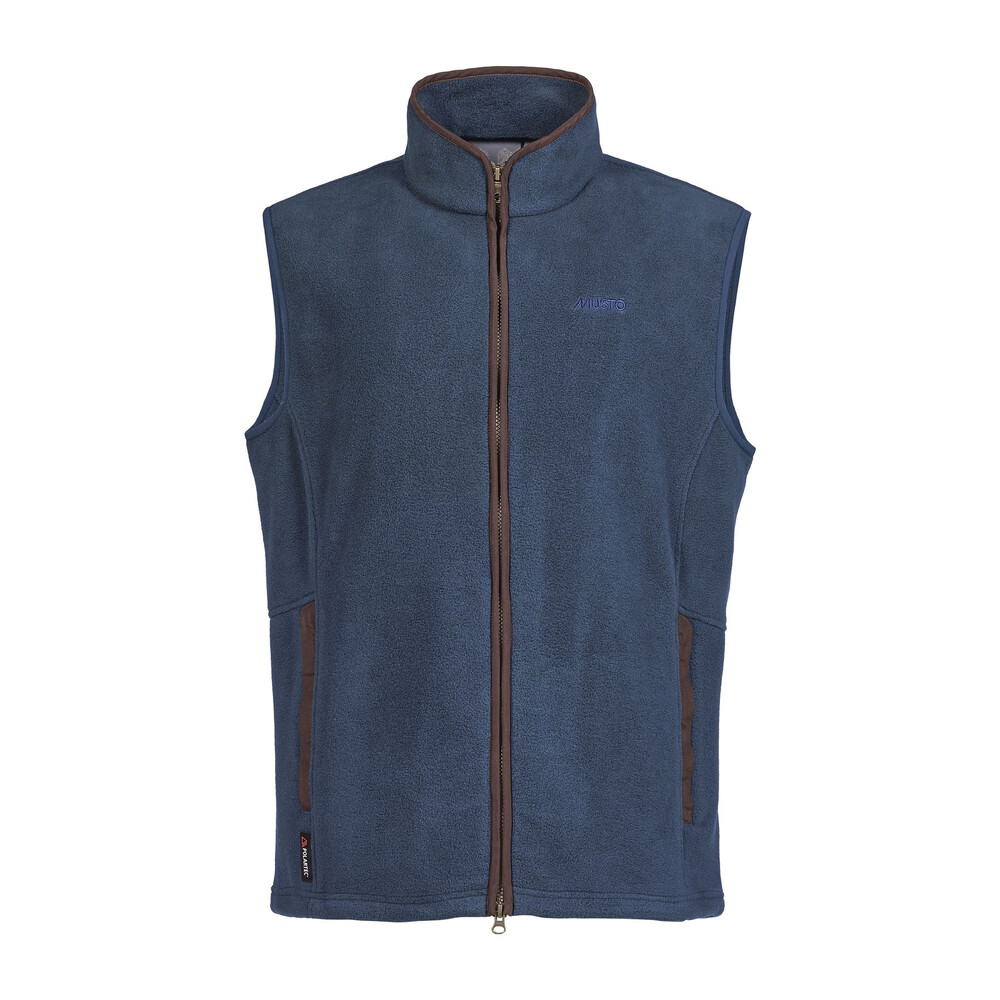 Musto Glemsford Polartec Fleece Gilet True Navy