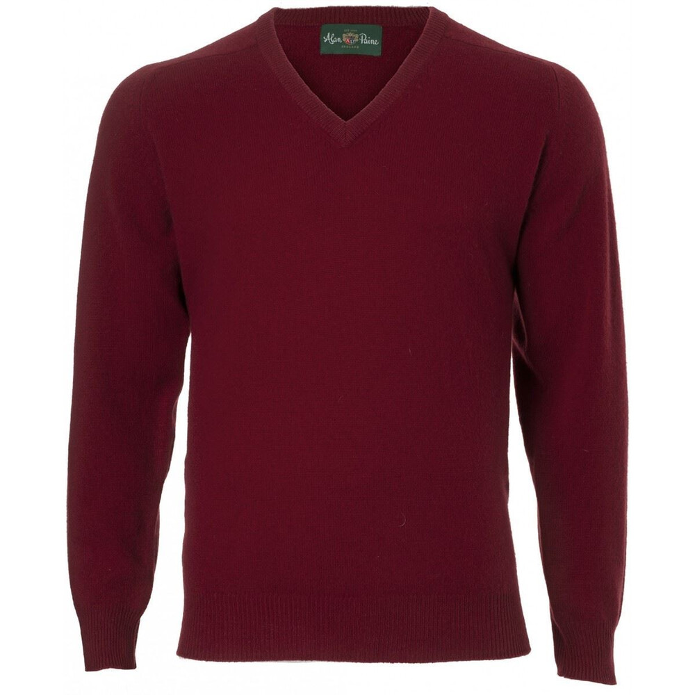 Alan Paine Hampshire V Neck Jumper