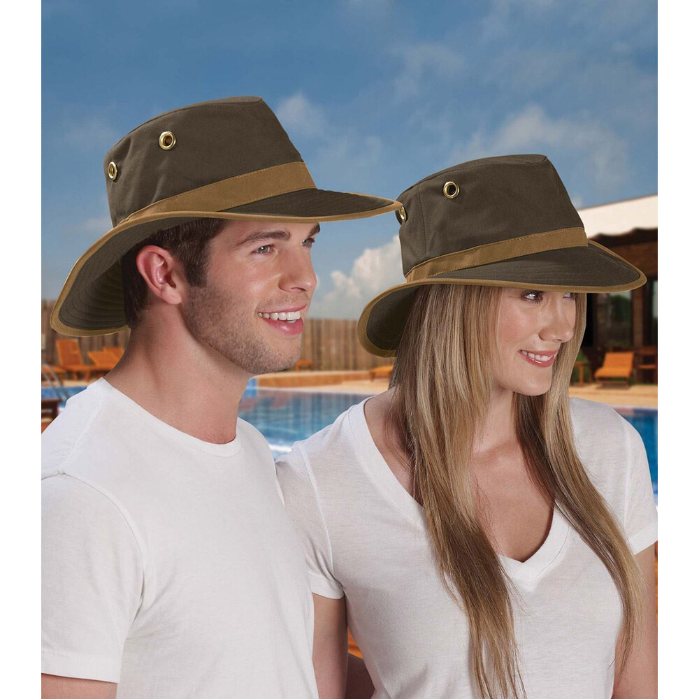 Tilley TWC7 Outback Hat - /British Tan - Size 7 Brown