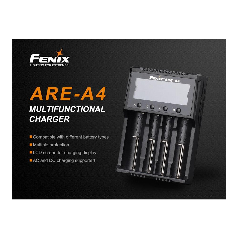 Fenix ARE-A4 Charger Black