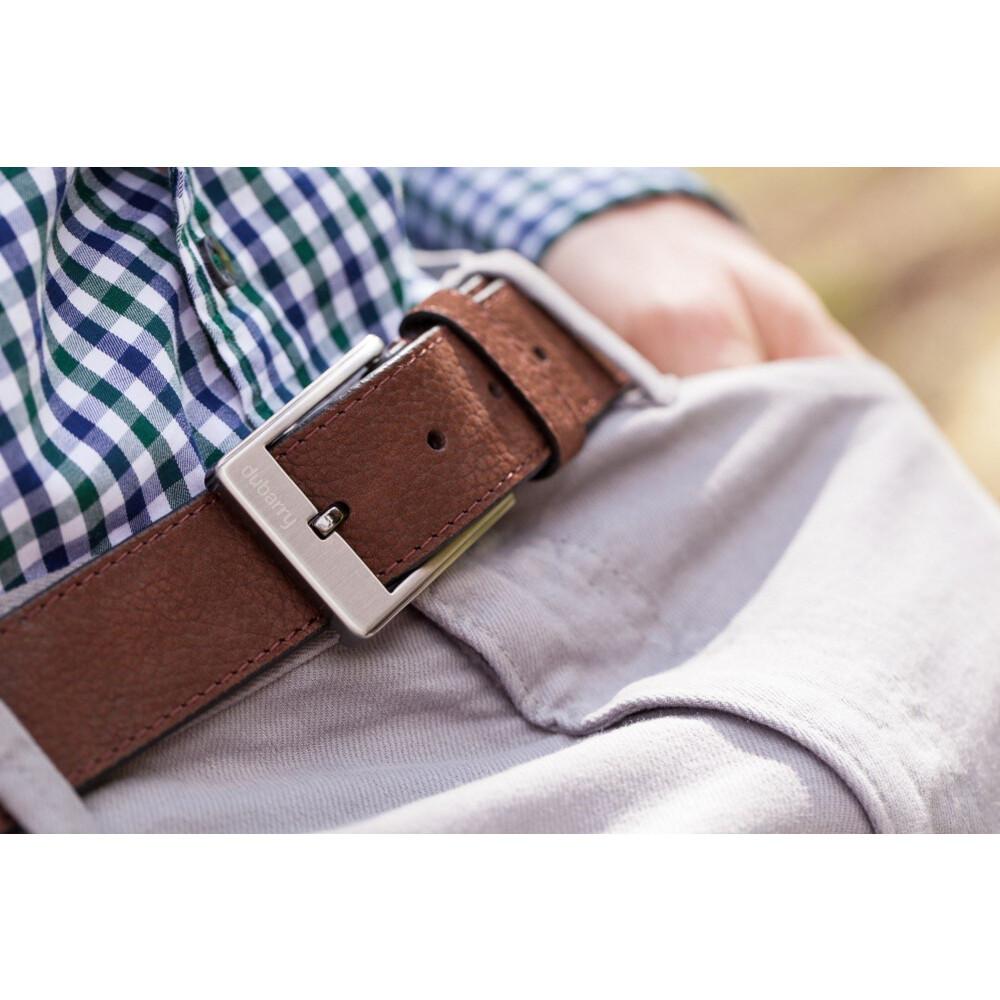 Dubarry Leather Belt - Walnut Walnut