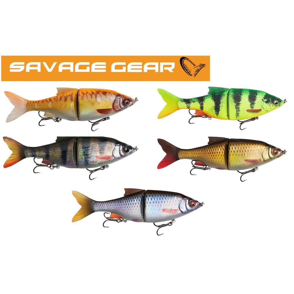 Savage Gear Savage Gear - Roach Shine Gilder Lure13.5cm in Fire Tiger