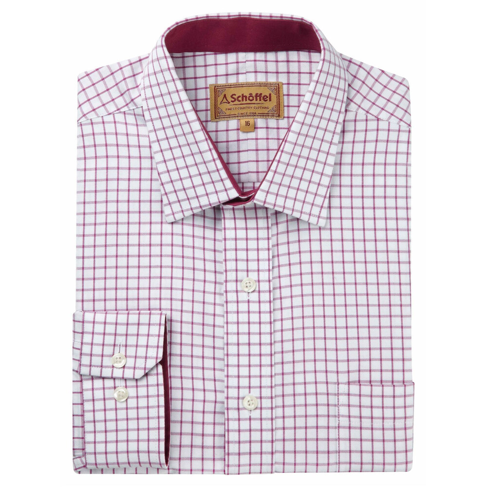 Schoffel Schoffel Cambridge Shirt - Raspberry