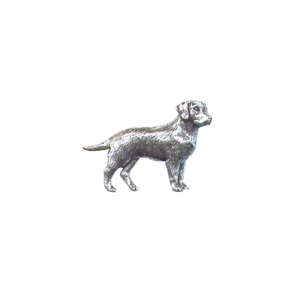 John Rothery Pewter Pin Badge - Labrador