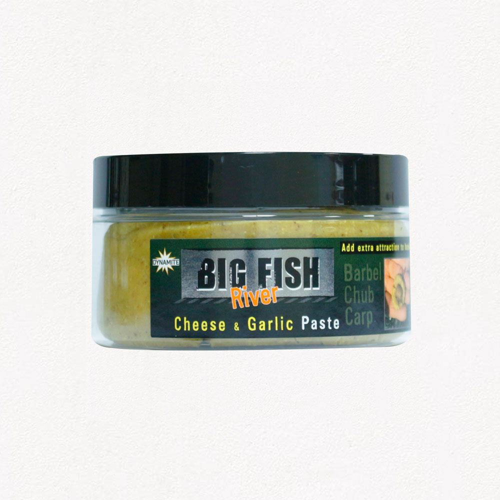 Dynamite Baits Big Fish River Paste - Cheese & Garlic