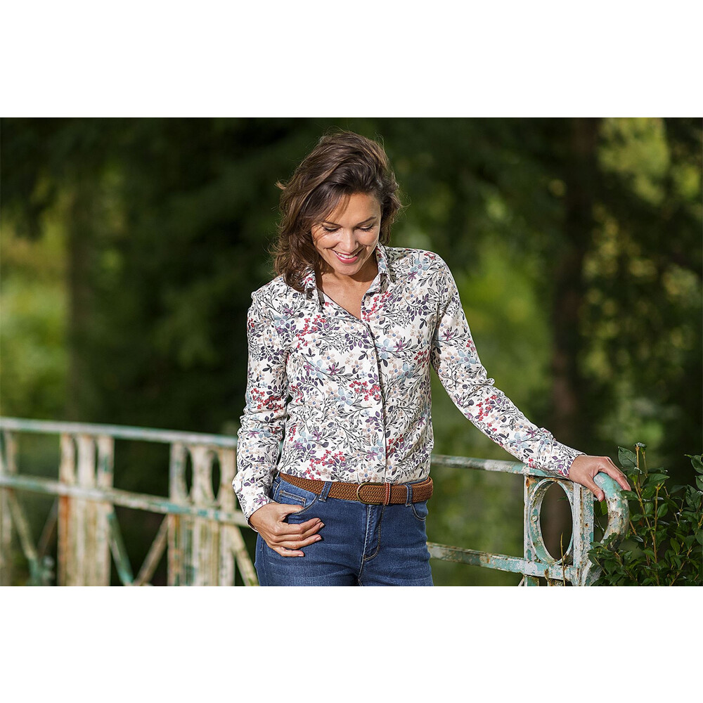 Baleno Bloomfield Ladies Shirt Flower Print