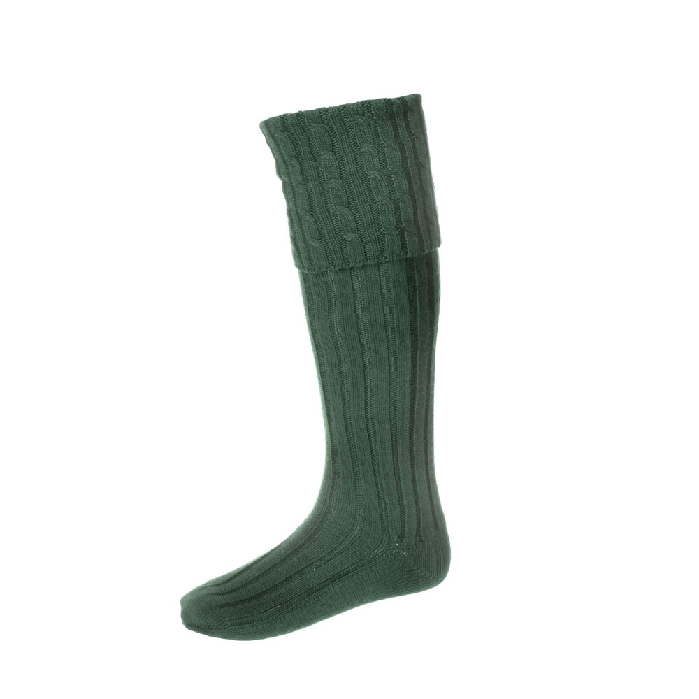 House of Cheviot House of Cheviot Harris Sock - Spruce