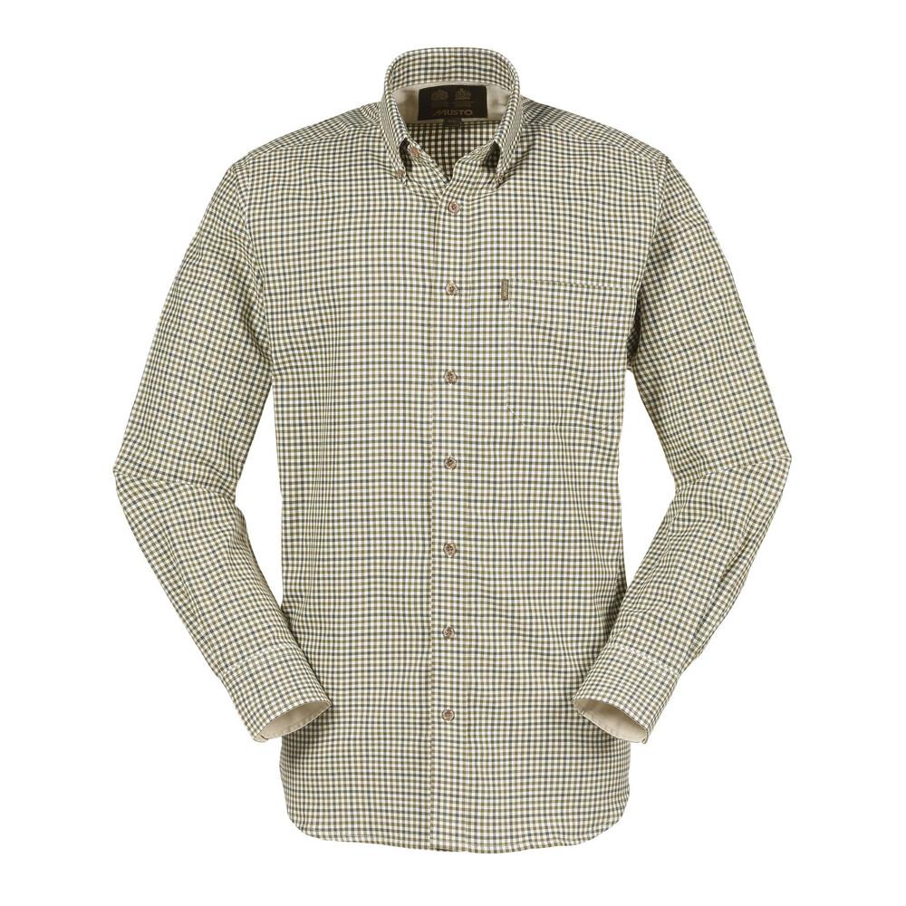 Musto Classic Button Down Shirt - Glendye Check Multi