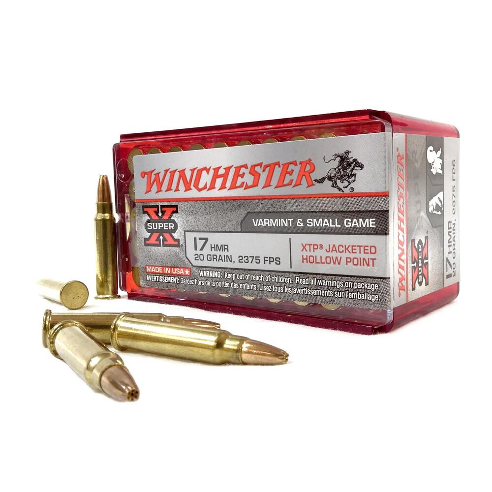 Winchester .17HMR Ammunition - 20gr - Super-X JHP