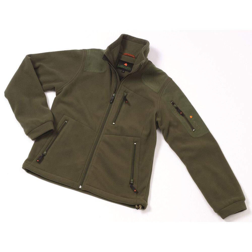 Laksen Puma Fleece Jacket Dark Green