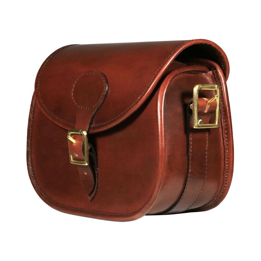 Teales Premier Leather Cartridge Bag - 100 Shells