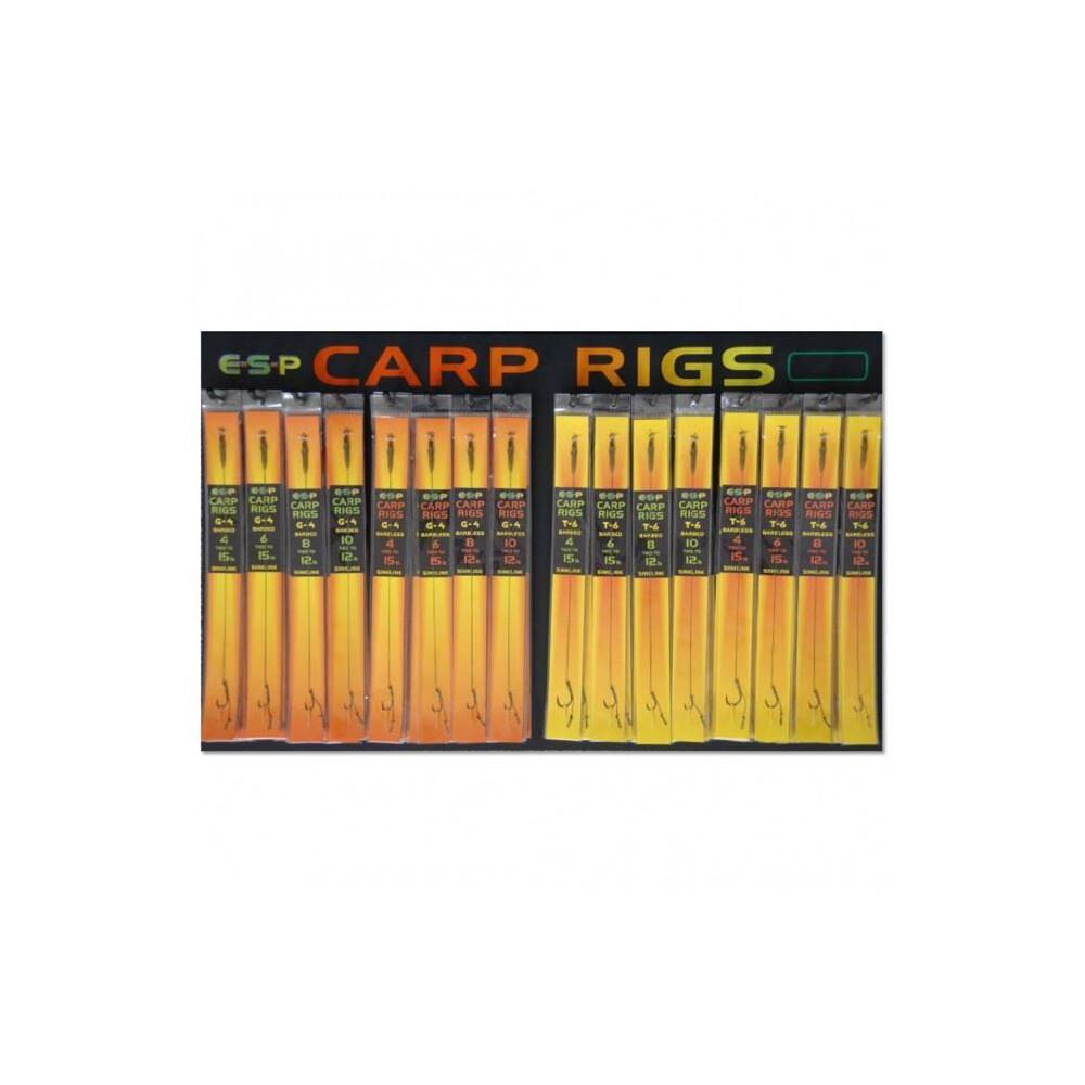 ESP Carp Rig T6 - Barbless