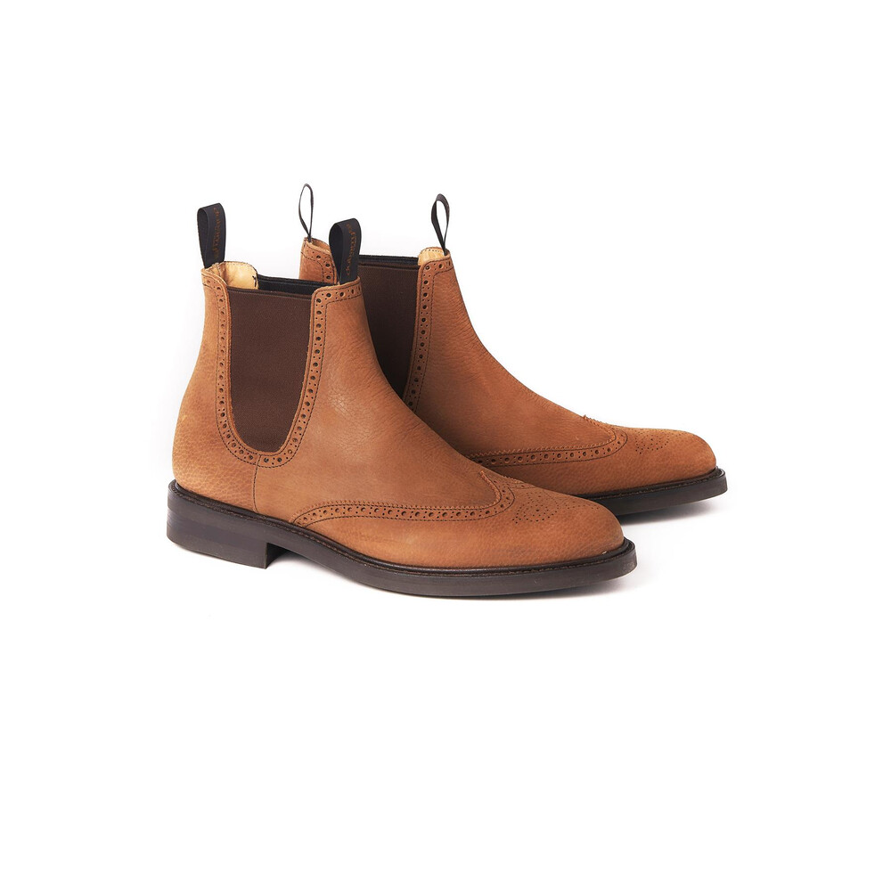 Dubarry Fermanagh Brogue Chelsea Boot - Brown
