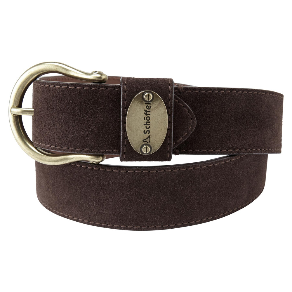 Schoffel Schoffel Ladies Suede Belt - Dark