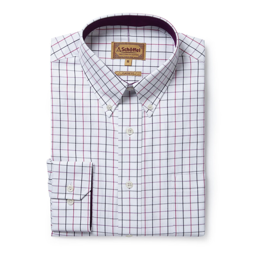 Schoffel Schoffel Banbury Shirt - Pink/Grey Check