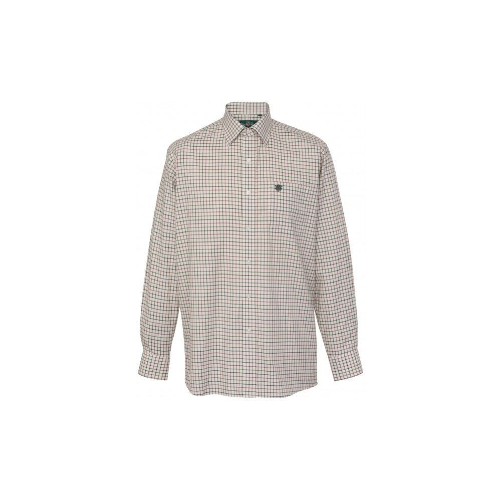 Alan Paine Alan Paine Ilkley Mens Shirt - Red/Olive