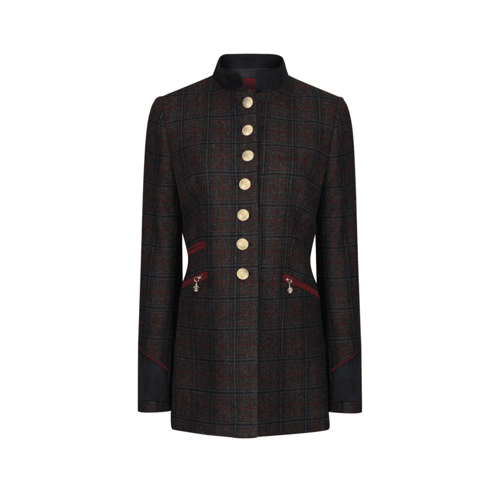Welligogs Knightsbridge Wine Jacket Red