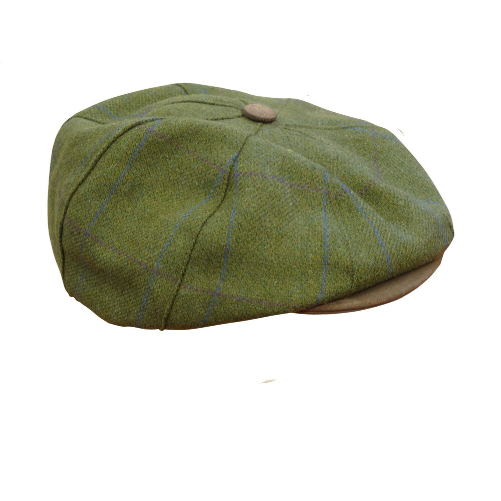 Musto York Hat - Heather Tweed Green