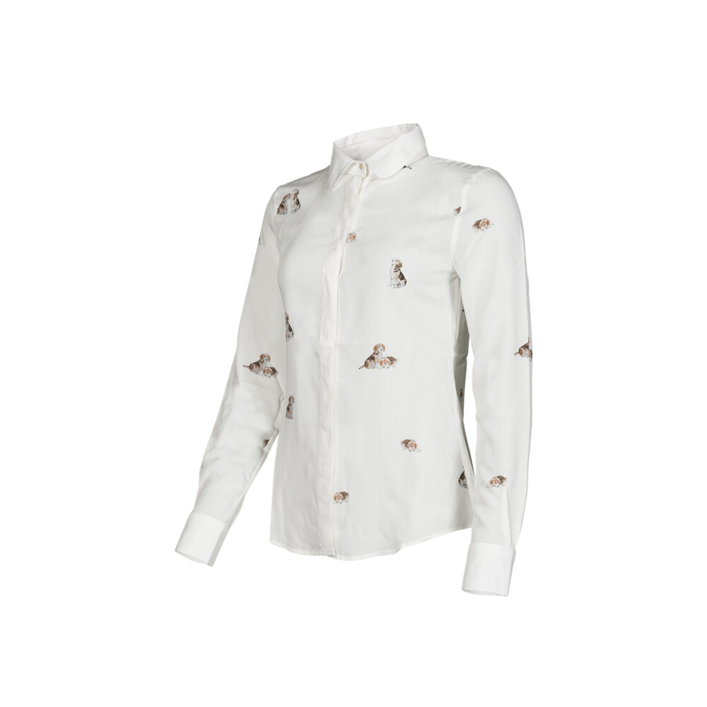Baleno Baleno Stephanie Shirt - Dog Print