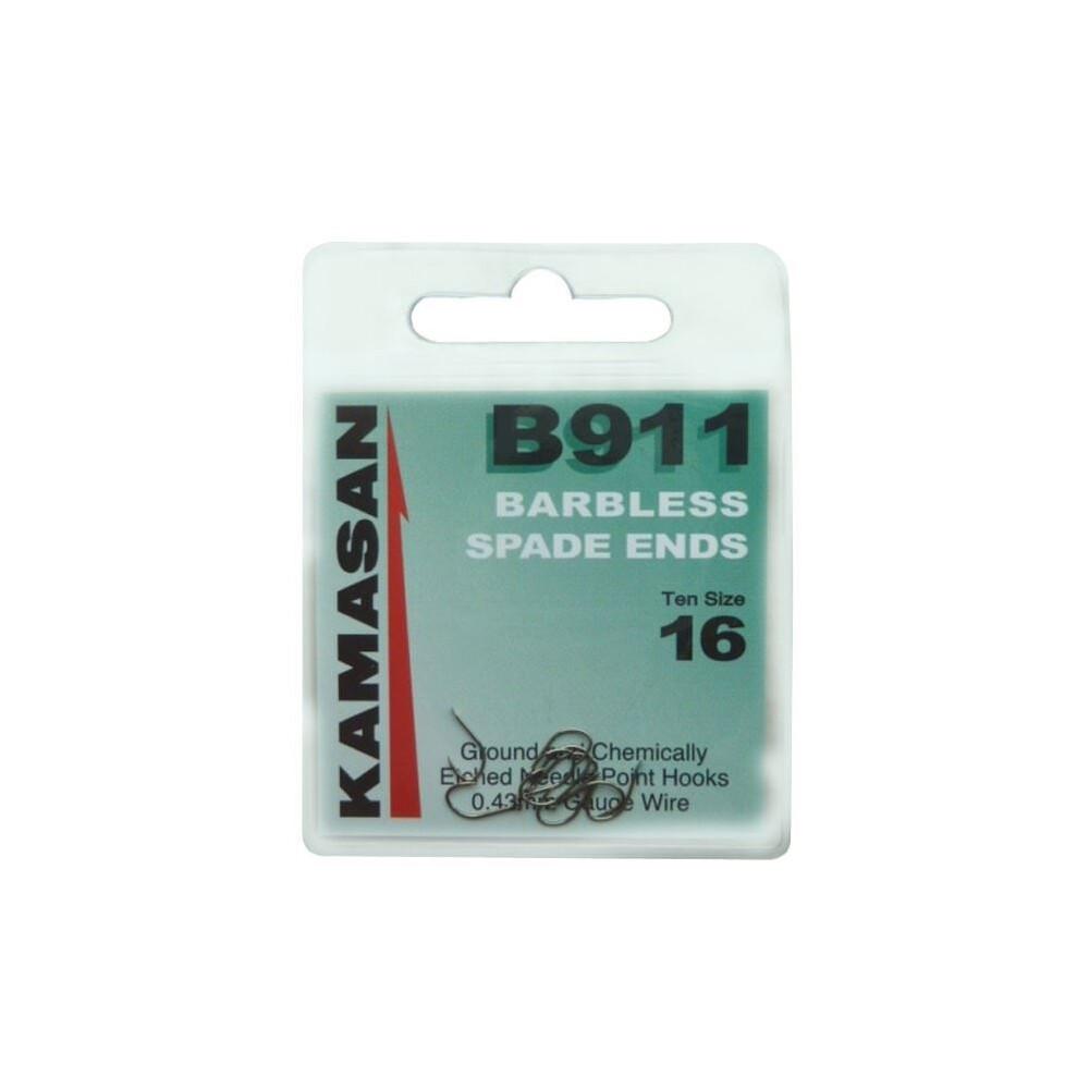 Kamasan B911 Hooks - Spade - Barbless