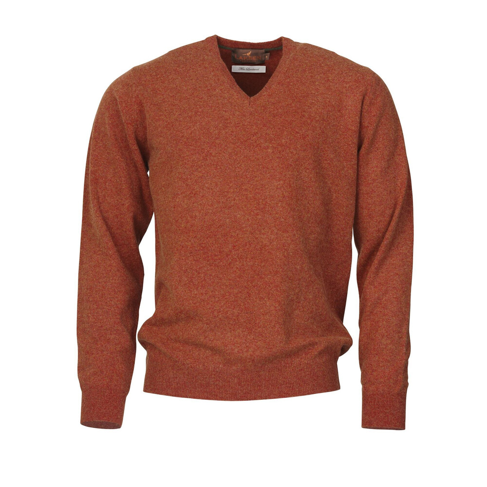 Laksen Yates Sweater - Blood Orange