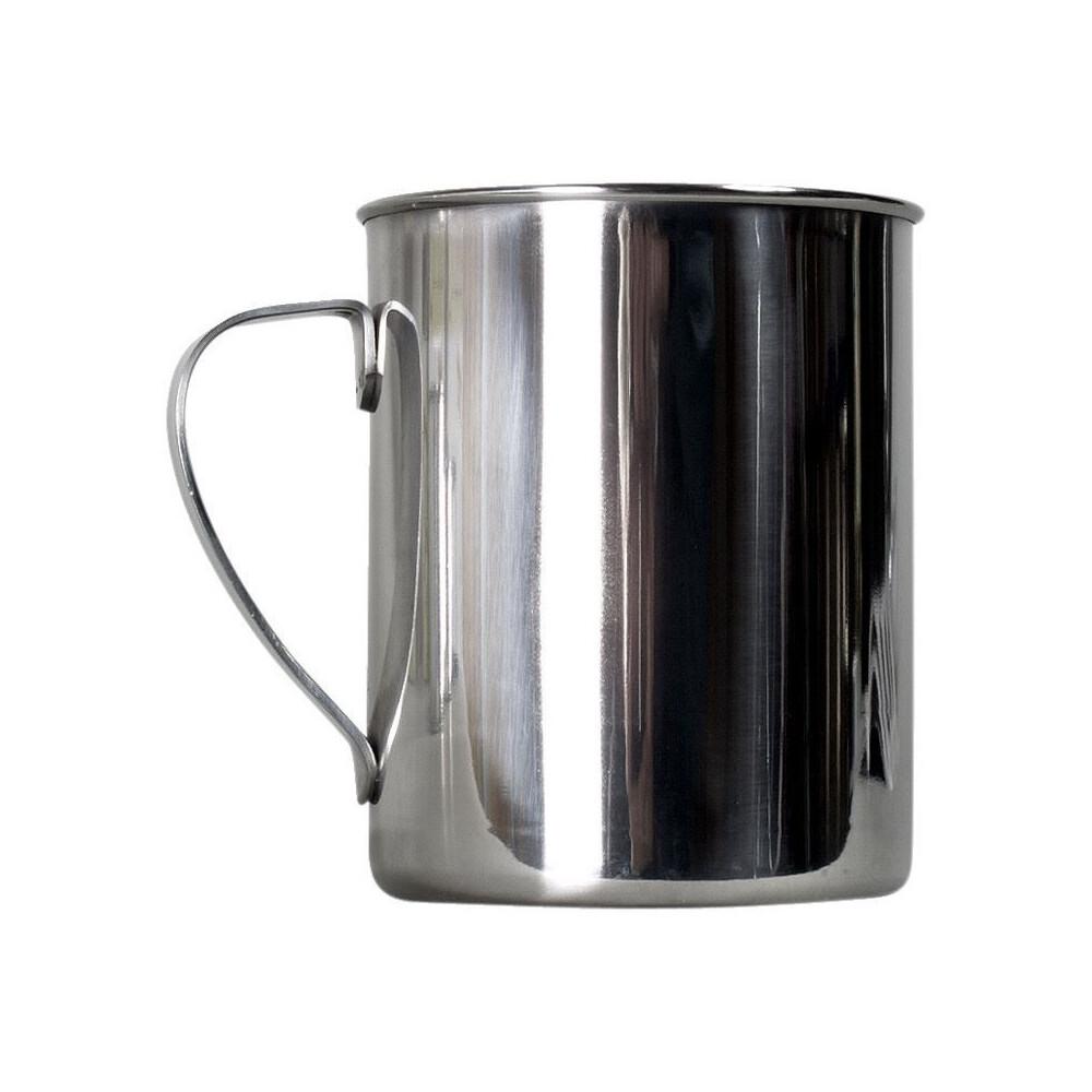 Zebra Stainless Steel Mug - 9cm