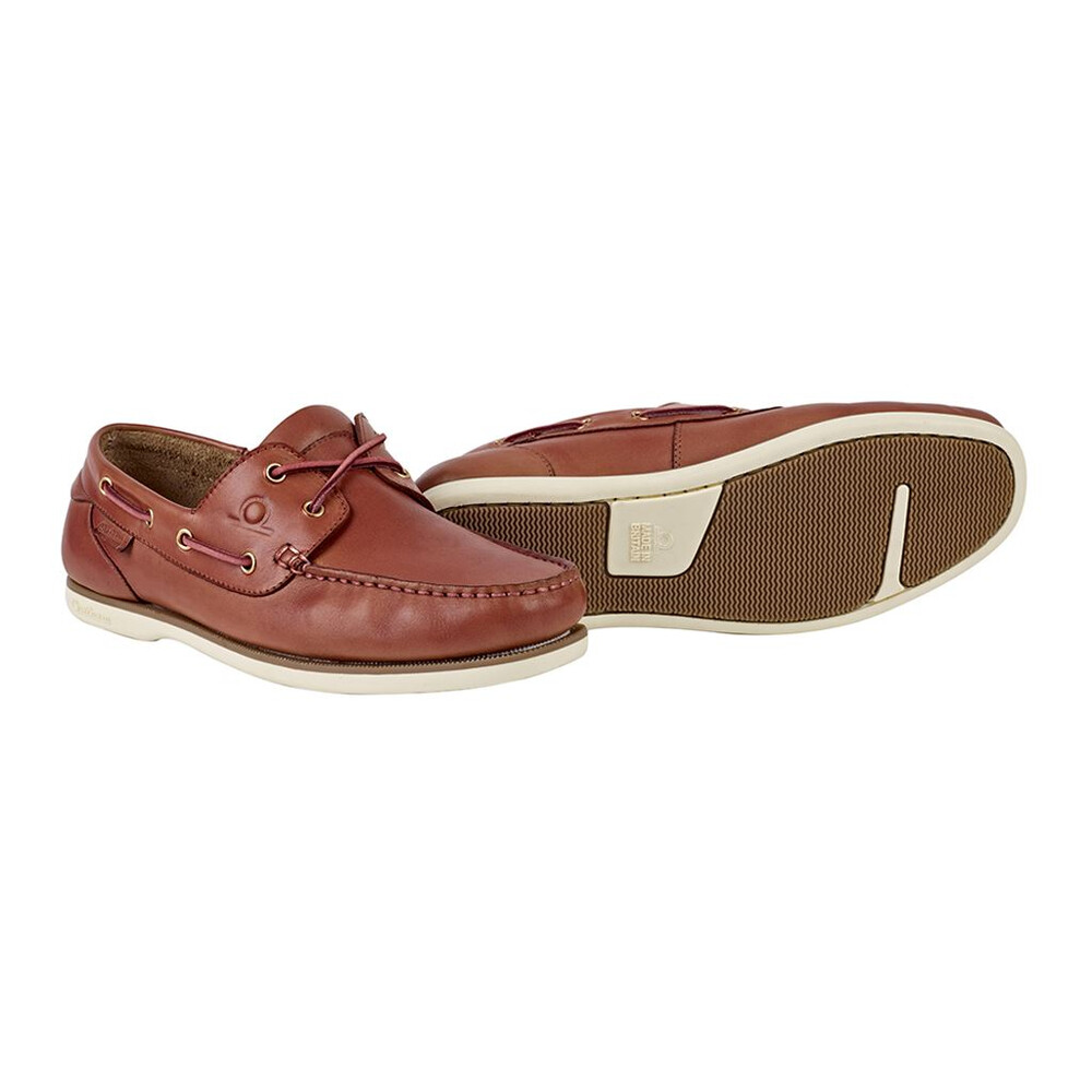 Chatham Newton Boat Shoe - Pink - UK 8 EU 42 Pink