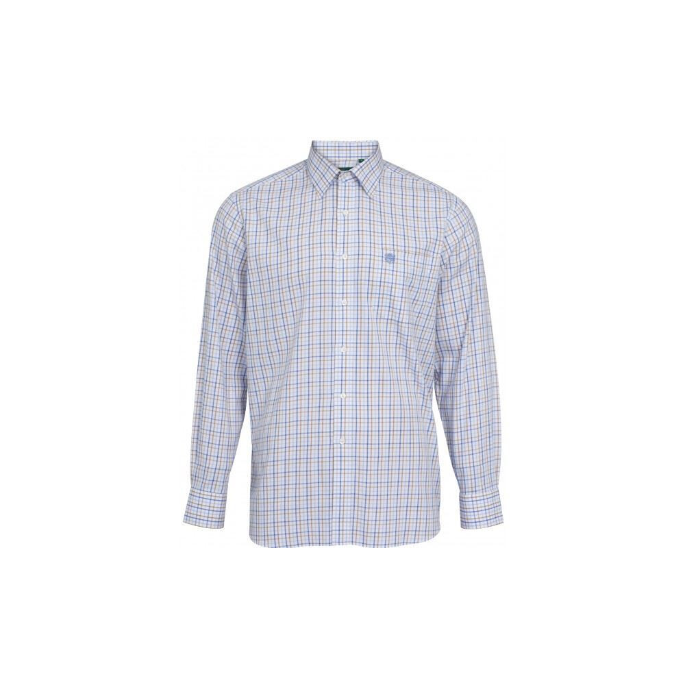 Alan Paine Ilkley Mens Shirt Blue/Beige